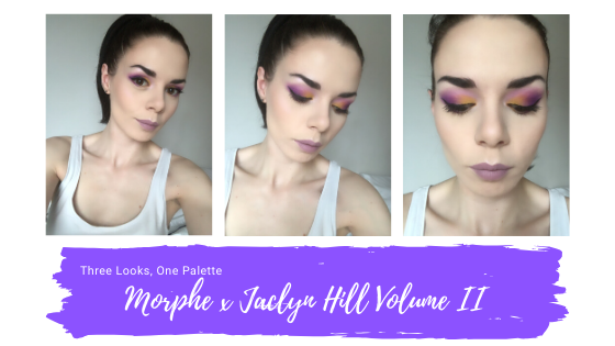 Jaclyn Hill x Morphe Volume II - First Makeup Look
