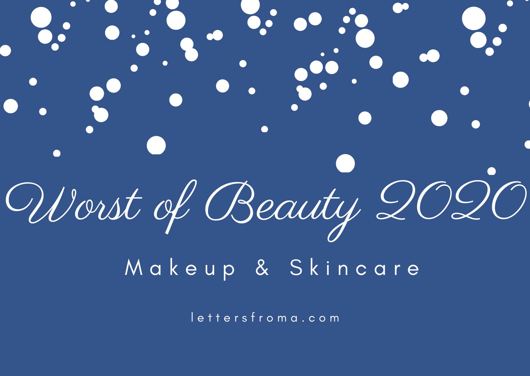 Worst of Beauty 2020